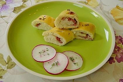 Schinken - Käse Stangen 13