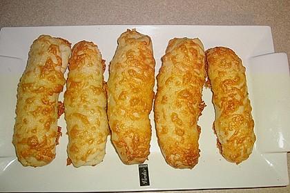 Schinken - Käse Stangen 10