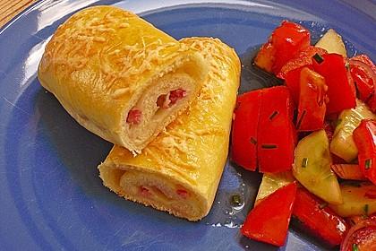 Schinken - Käse Stangen 1