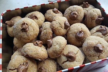 Erdnussbutter - Schokoladen - Kugeln 12