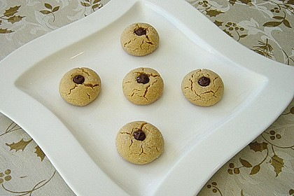 Erdnussbutter - Schokoladen - Kugeln