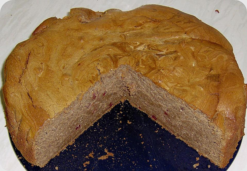 Quark Erdnuss Buchweizen Kuchen Von Hans60 Chefkoch De