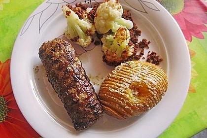 Bifteki mit Schafskäse 6
