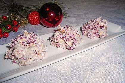 Weiße Mandelsplitter mit Cranberries 8