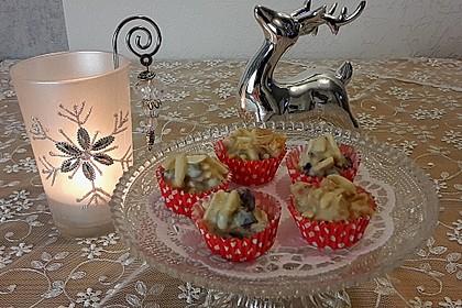 Weiße Mandelsplitter mit Cranberries 5