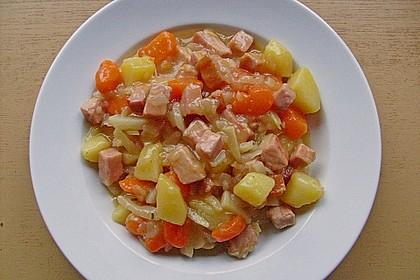 Weißkohl-Eintopf mit Kasseler 6