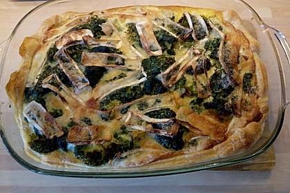 Blätterteig - Quiche mit Brokkoli und Camembert 27
