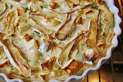 Blätterteig - Quiche mit Brokkoli und Camembert 5