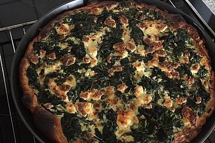 Blätterteig - Quiche mit Brokkoli und Camembert (Bild)