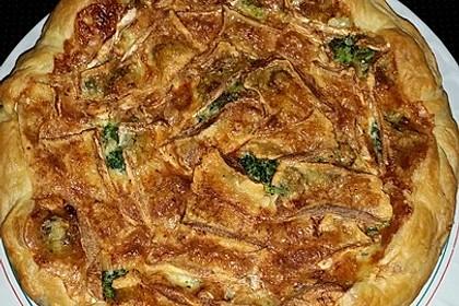 Blätterteig - Quiche mit Brokkoli und Camembert 22