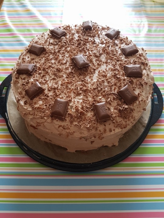 Schoko Birnen Torte Von Bigmum65 Chefkoch De