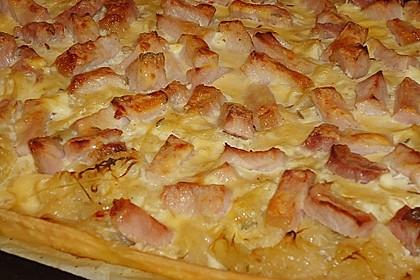 Sauerkrautkuchen mit Kasseler 1
