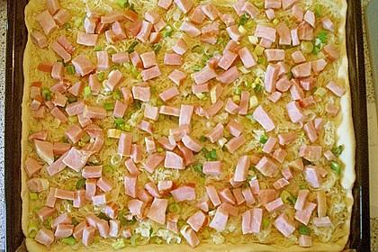 Sauerkrautkuchen mit Kasseler 5