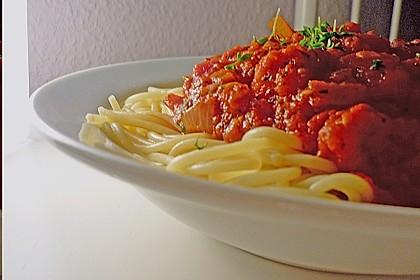 Vegetarische Tomatensoße 1