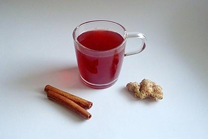 Ingwer - Zimt Tee 7