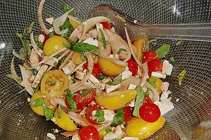 Kirschtomaten - Salat 1