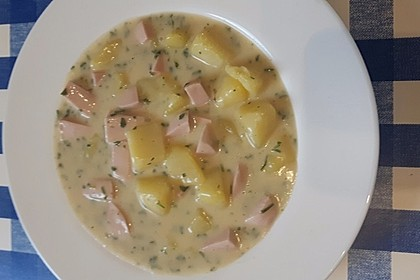 Petersilienkartoffeln mit Fleischwurst 16