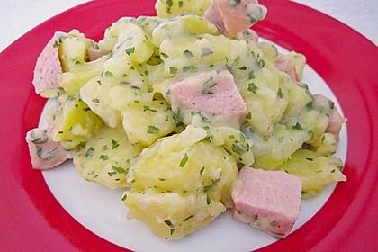 Petersilienkartoffeln mit Fleischwurst 14