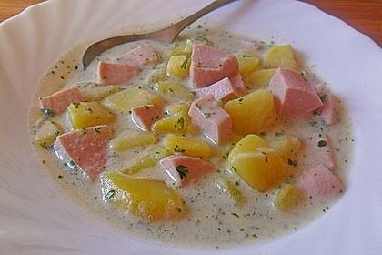 Petersilienkartoffeln mit Fleischwurst 29