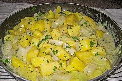 Petersilienkartoffeln mit Fleischwurst 24
