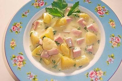 Petersilienkartoffeln mit Fleischwurst 10