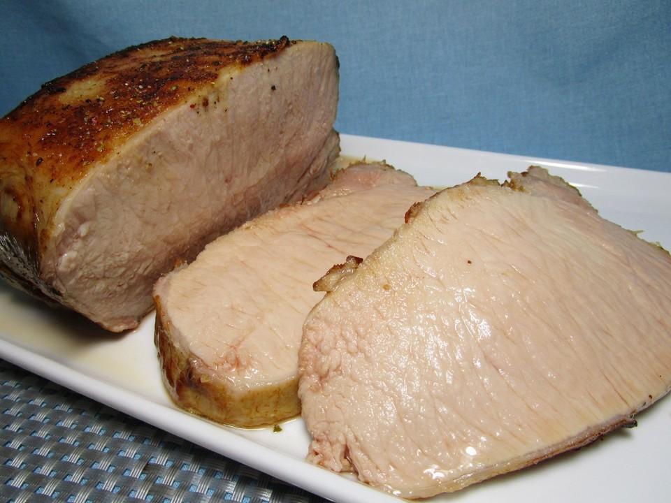 Schweinerucken Sous Vide Ein Raffiniertes Rezept Chefkoch De