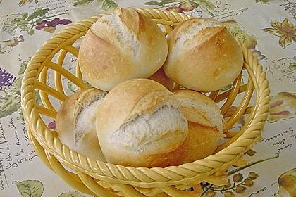 Buttermilchbrötchen mit Vorteig 4