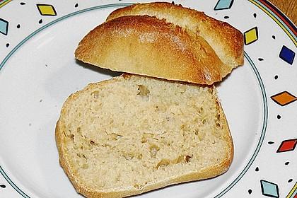 Buttermilchbrötchen mit Vorteig 71