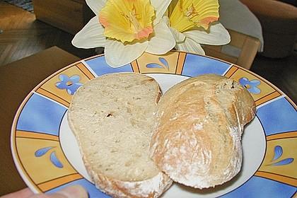 Buttermilchbrötchen mit Vorteig 125
