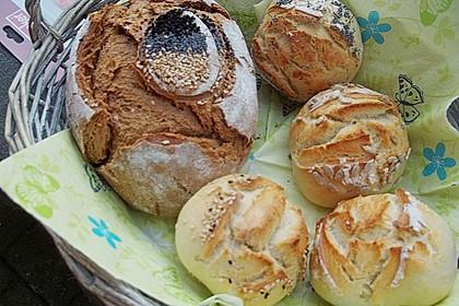Buttermilchbrötchen mit Vorteig 118