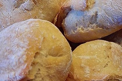 Buttermilchbrötchen mit Vorteig 61