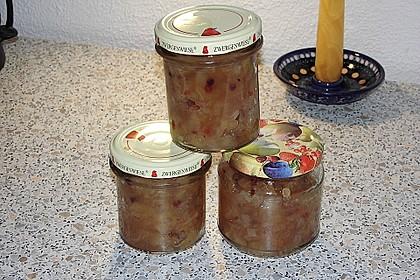 Apfel - Zwiebel Chutney mit grünem Pfeffer von Rosinenkind 6