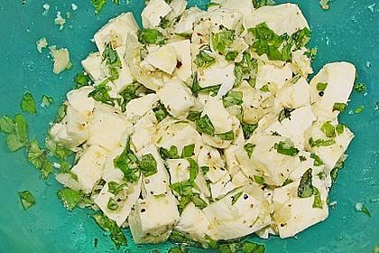 Raclette mit Lachs und Mozzarella
