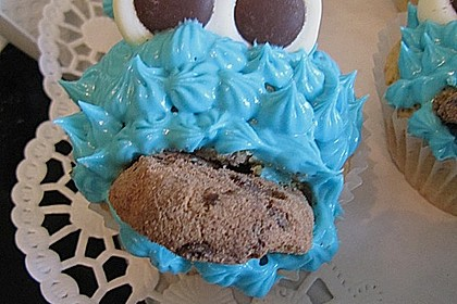Blaue Monster Muffins 12