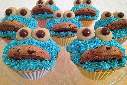 Blaue Monster Muffins 4