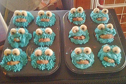 Blaue Monster Muffins 16