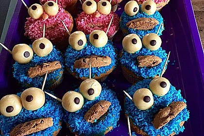 Blaue Monster Muffins 13