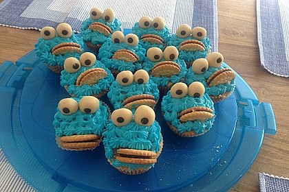 Blaue Monster Muffins 10