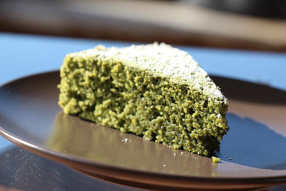 Gruner Tee Kuchen Von Naomelle Chefkoch De