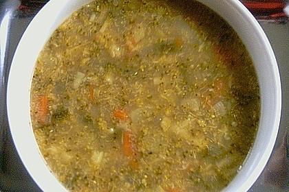 Dinkelgrieß - Brokkoli - Suppe 1