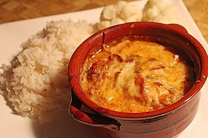 Putenschnitzel mit Champignonkruste überbacken 5