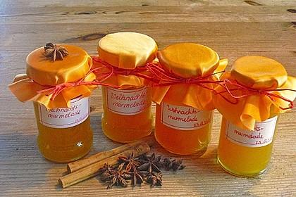 Kürbis - Orangen - Marmelade
