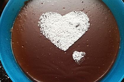 Schokoladenpudding selbst gemacht 15