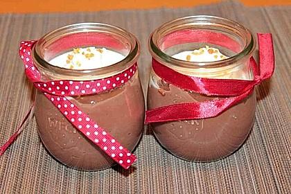 Schokoladenpudding selbst gemacht
