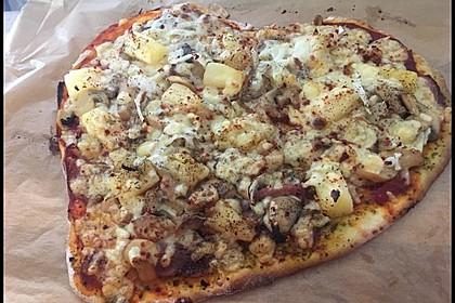 Marinas Pizzateig mit Backpulver 17