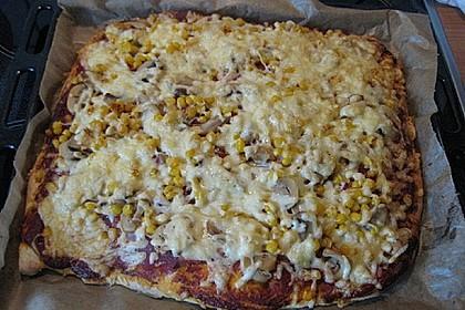 Marinas Pizzateig mit Backpulver 38