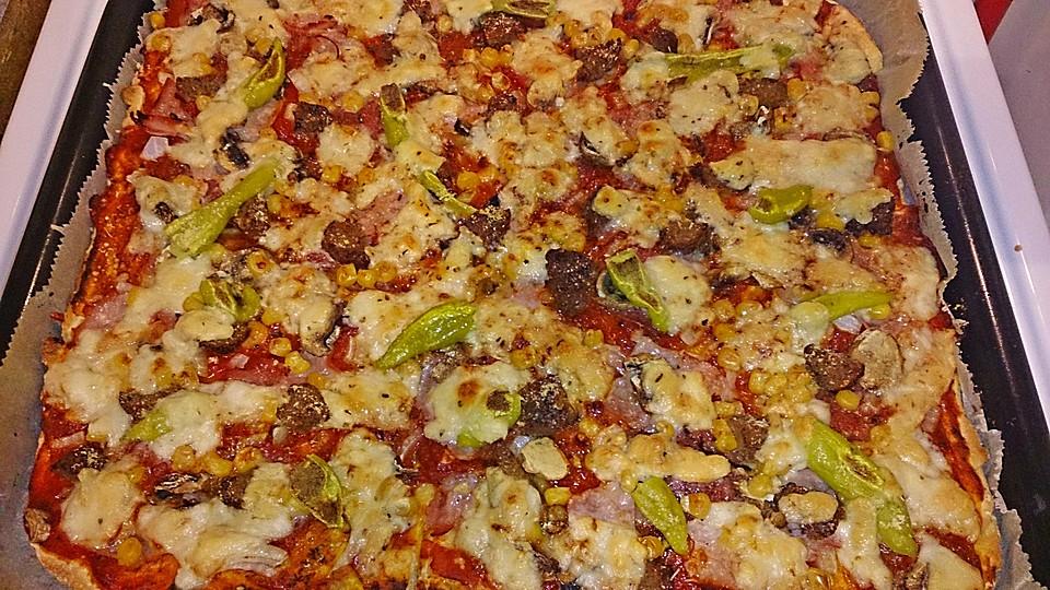 Kühlschrank Pizza Aldi : Aldi sÜd rezept spaghetti mit pesto vom grünen spargel