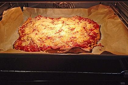 Marinas Pizzateig mit Backpulver 42