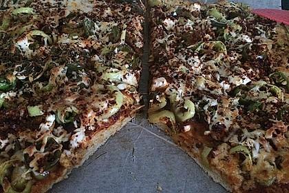 Marinas Pizzateig mit Backpulver 32