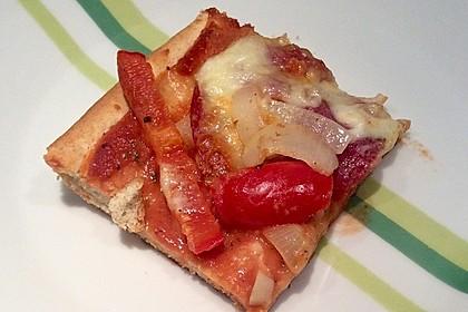 Marinas Pizzateig mit Backpulver 19